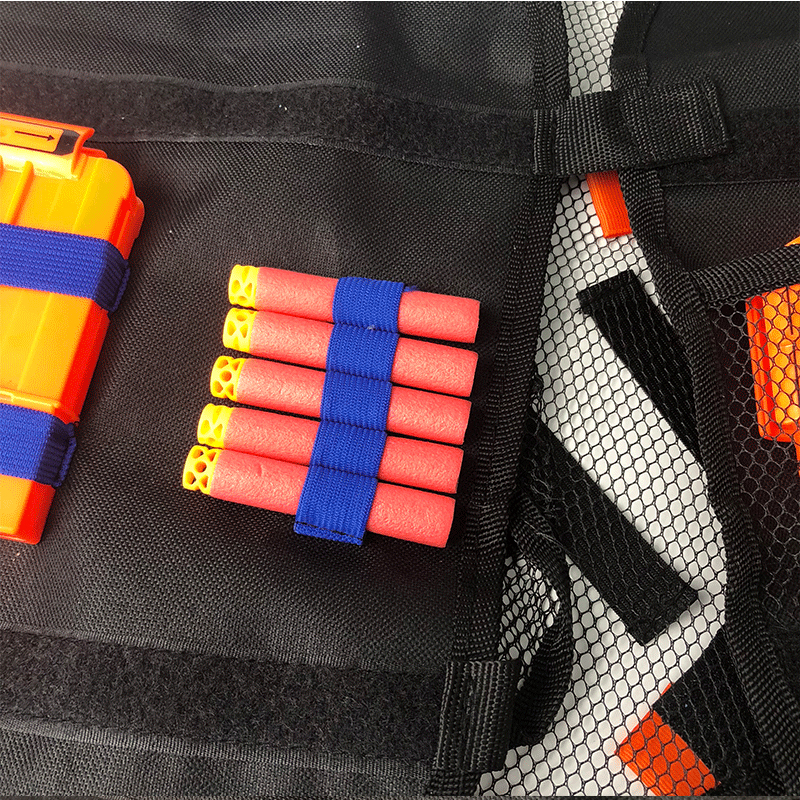 100PCS For Nerf bullets 7 2cm For Nerf Children Kids Tactical Waistcoat Ammo Holder N Strike Elite Pistol Bullets Toy Clip Darts in Toy Guns from Toys Hobbies
