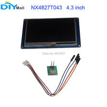 Nextion 4.3 TFT 480x272 NX4827T043 HMI Resistive Touch Screen UART Smart Display Module for Arduino Raspberry Pi ESP8266 rcmall nextion 7 0 hmi intelligent nextion lcd module display for arduino raspberry pi esp8266 fz1752 diymall