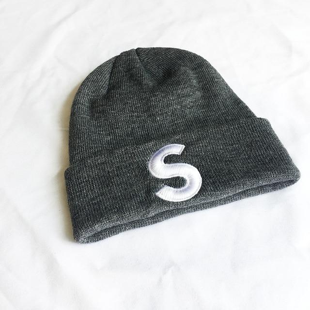 Korean Style S Knitted Beanie 10
