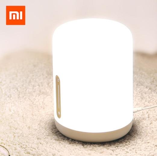 Xiaomi Mijia MJCTD02YL lampe de chevet 2 bluetooth WiFi T0uch panneau APP contrôle RGB lampe de Table fonctionne avec un pple HomeKit Siri