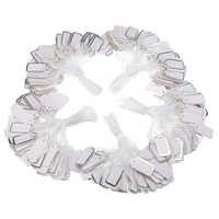 500 stücke 25x13mm Preis Etiketten Bekleidungs Tags Rechteckigen Label Krawatte String Schmuck Kleidung Display Waren Preis Tags