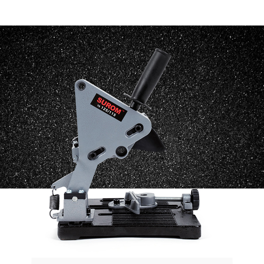 Fixed Angle Grinder Bracket With Adjusting Knob Grinding Machine Holder With Anti-Slip Pads Assembled Tools With Removable PartsFixed Angle Grinder Bracket With Adjusting Knob Grinding Machine Holder With Anti-Slip Pads Assembled Tools With Removable Parts