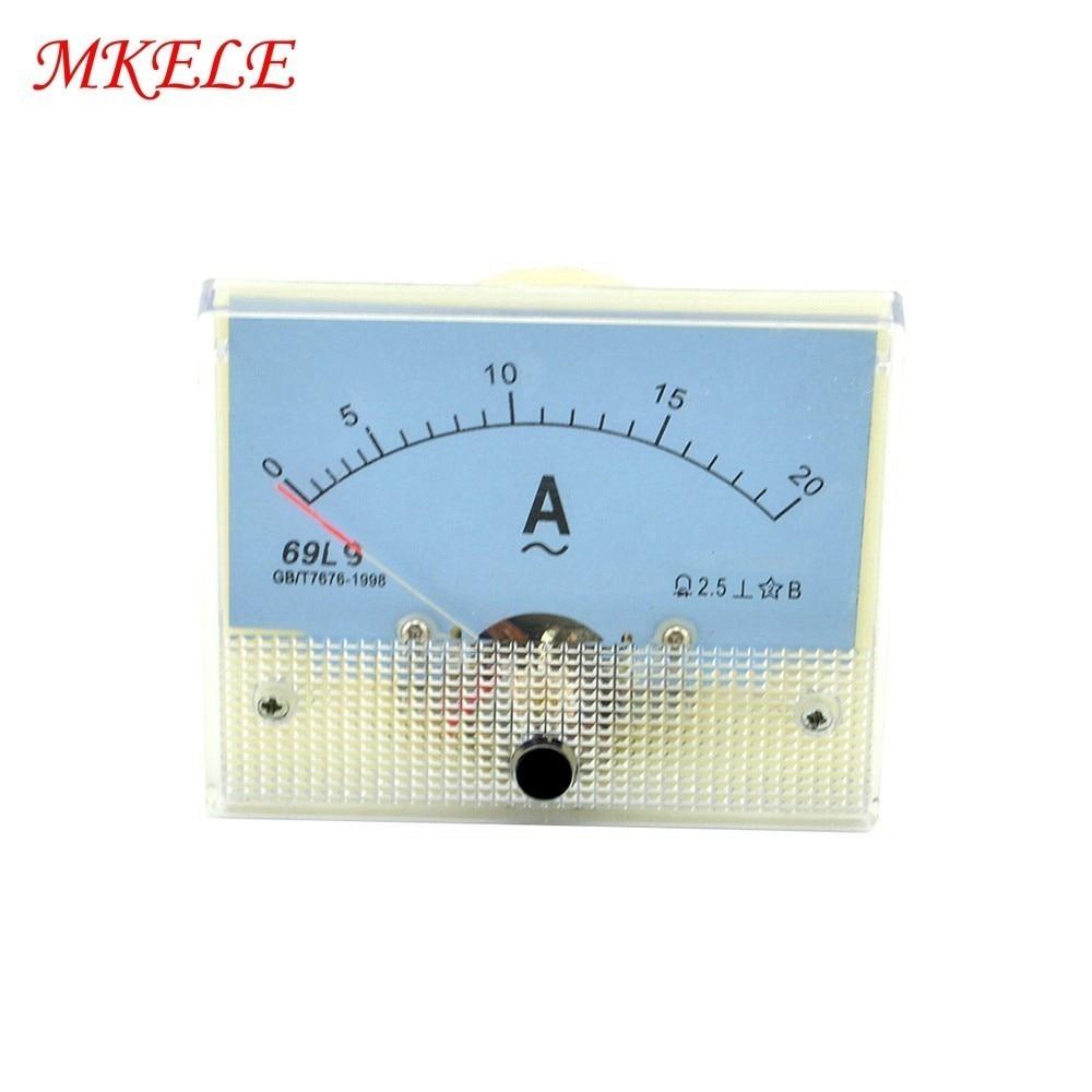 Ponteiro do Medidor Testador de Diagnóstico-ferramenta Corrente Sale 20a Amper Painel Amperímetro Analógico Atual ac Hot 69l9