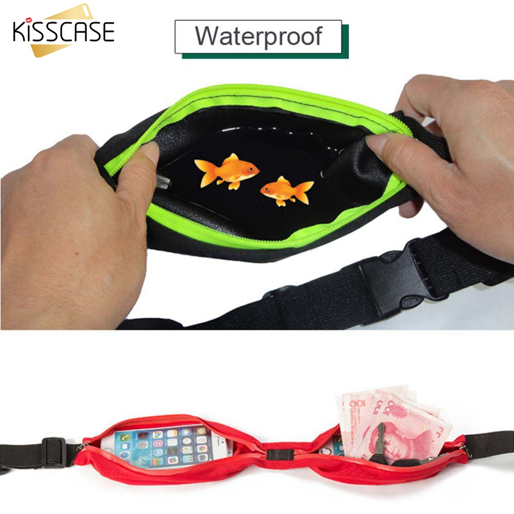 KISSCASE Waterproof Drift Diving Swimming Bag Underwater Dry Waist Pack Bag Pocket Pouch for iphone 8 7 XR case cover camera image