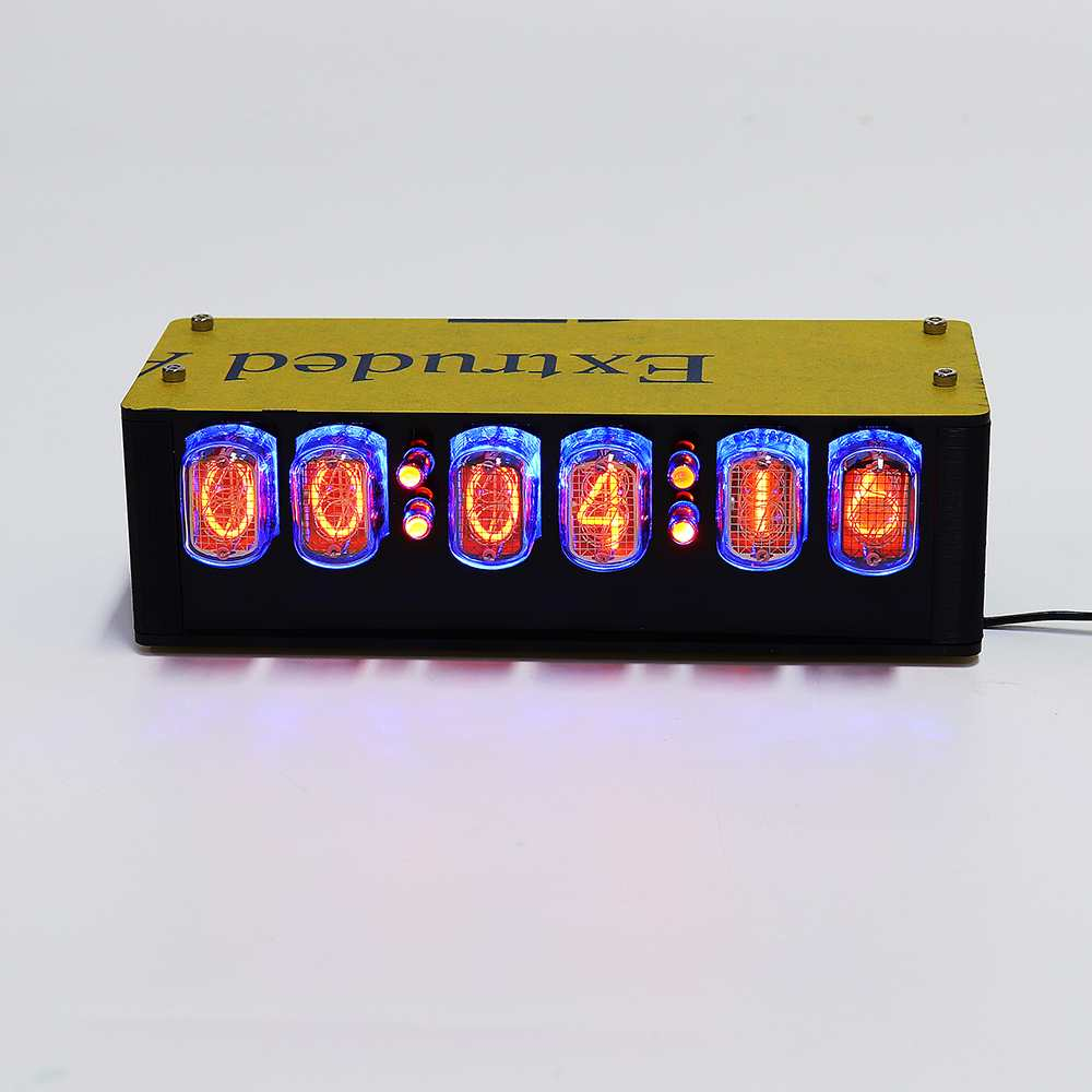 NEW IN-12A Glow Tube Clock GPS Automatic Time Module With Electron Tube Over QS18-12(China)