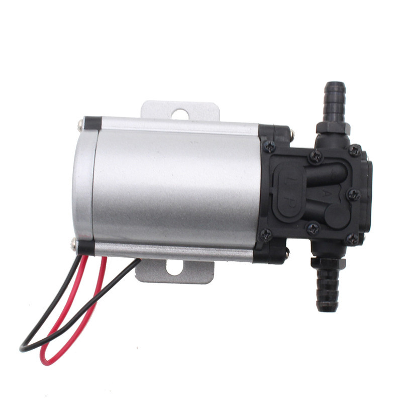 8MM to 10MM Tubing Professional Gasoline Petro Oil Pump DC 12V 24V Fuel Extractor Transfer 10L