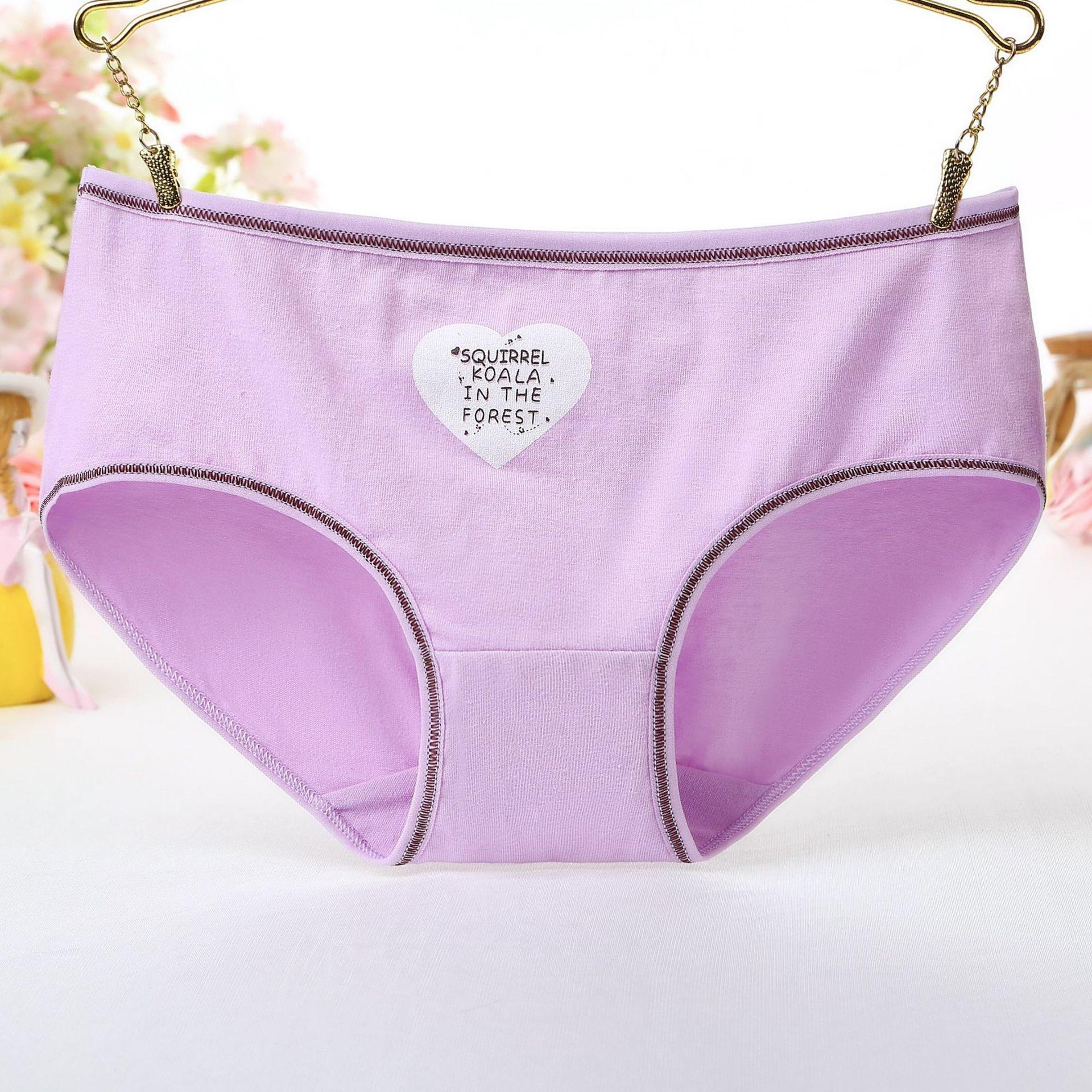 2019 New Panties for women cotton letter print female underwear gril briefs sexy lingerie ladies underpant woman panty wholesale