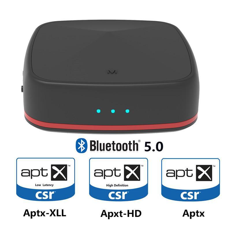 Tragbares Audio & Video 3,5mm Aux Bluetooth 5,0 Adapter Aptx Hd Sender Audio Empfänger Optische Toslink/aux/spdif Für Tv Kopfhörer Home System Unterhaltungselektronik