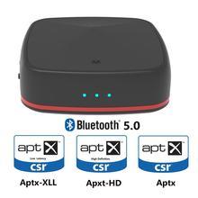 лучшая цена HobbyLane 5.0 Adapter Aptx HD Transmitter Audio Receiver Optical Toslink/AUX/SPDIF for TV Headphones Soundbar Home System d25