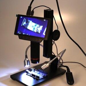 Image 4 - Andonstar ADSM302 กล้องจุลทรรศน์ดิจิตอลอิเล็กทรอนิกส์ USB กล้องจุลทรรศน์สำหรับ THT การบำรุงรักษาอุตสาหกรรมแว่นขยายกล้องรีโมทคอนโทรล