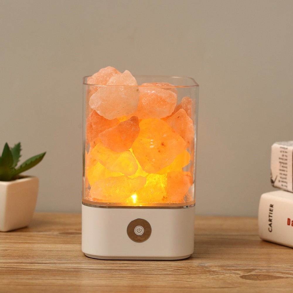 USB Crystal Light natural himalayan salt lamp led Lamp Air Purifier Mood Creator Indoor warm light table lamp bedroom lava lampUSB Crystal Light natural himalayan salt lamp led Lamp Air Purifier Mood Creator Indoor warm light table lamp bedroom lava lamp