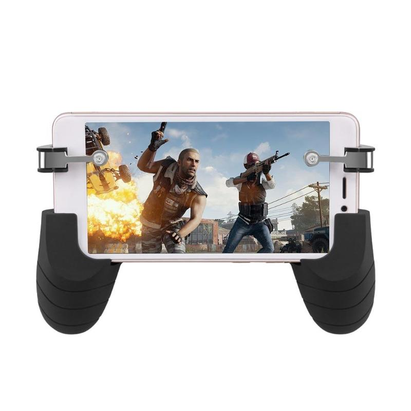 2pcs R9-A Mobie Controller Gamepad Tablet Trigger Fire Button L1R1 Shooter Gamer Trigger Game Pad Controller For iPhone Android