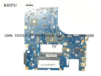 KEFU Promised Working FREE SHIPPING  ACLU5 / ACLU6 NM-A281 FOR LENOVO G50-45  MAIN BOARD  MOTHERBOARD A8 PROCESSOR +VIDEO CARD