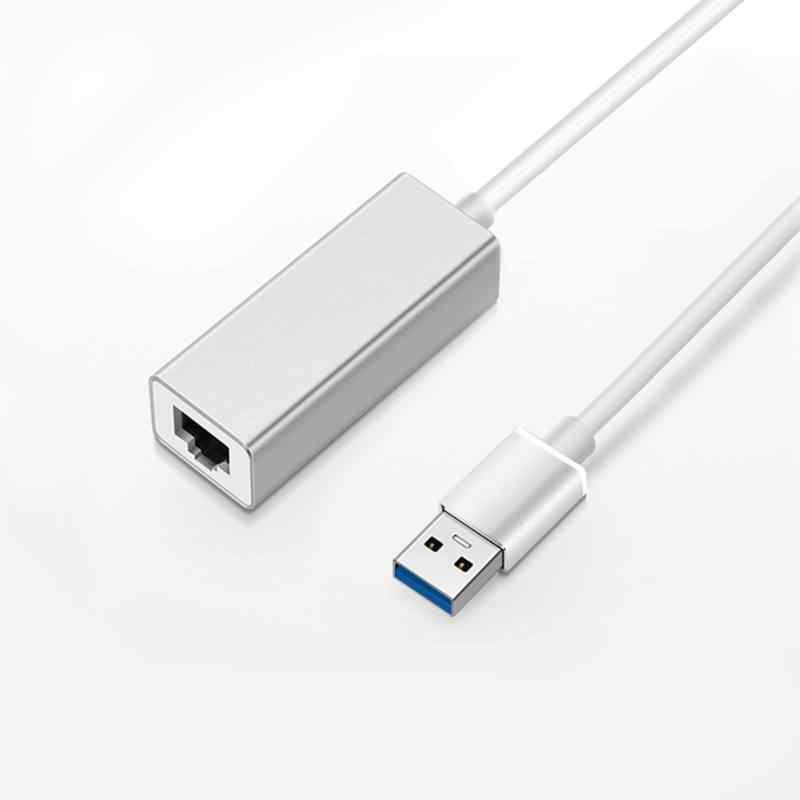 ULT-BEST сетевой адаптер Usb 3,0 для оптоволкна вай-Rj45 сетевой адаптер Gigabit поддерживает nintendo переключатель для 10/100/1000 Мбит/с Ethernet