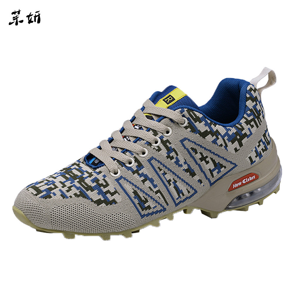 Hot Sale Fashion Casual Shoes For Men Spring Autumn Men's Mountaineering Shoes Non slip Mesh Breathable Lace up Sneakers #89