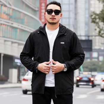 8XL Plus Size Spring Autumn Mens Casual Camouflage Hoodie Jacket Men Clothes Men's Windbreaker Coat Male Outwear Camo Clothing