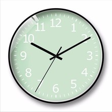 купить New 3D Big Wall Clock Simple Creative Round Wall Clocks Large Size Quiet Scanning Decorative Wall Clock Modern Design Home Decor онлайн