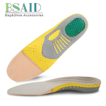 BSAID Mesh Insoles Breathable Arch Support Orthopedic Insoles For Shoes Woman Men Sneakers Sport Shoe Insole Orthotic Foot Pads