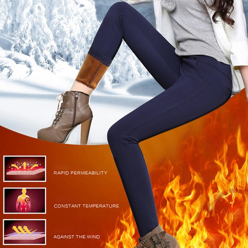 Pus Size 4XL Leggings Autumn Winter Plus Velvet Leggings Women High Waist Skinny Legging Long Pants Warm Winter Leggings