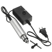 Us Plug Dc 6V 24V Mini Electric Hand Drill 385 Dc Motor With Jt0 Chuck Adjustable Speed Diy Tool Durable