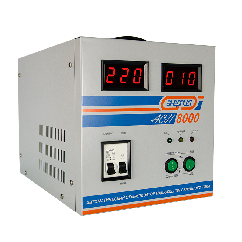 Voltage stabilizer Energy ASN-8000 voltage stabilizer energy asn 1000