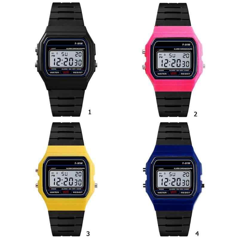 عرض ساخن!!! 2019 موضة جديدة مقاوم للماء النساء الرجال ساعة إلكترونية للجنسين الرياضة ساعة اليد الرقمية السيدات الساعات