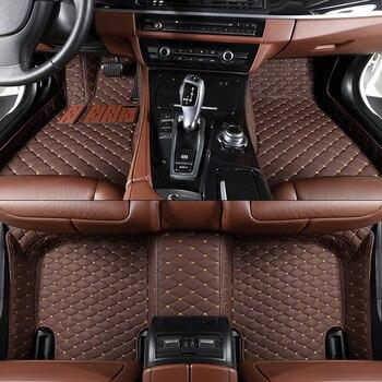 Designer Car Floor Mats For TOYOTA Land Cruiser Prado J2 J15 Prius V PHV W52 PLUS W4 easy cleaning car carpet