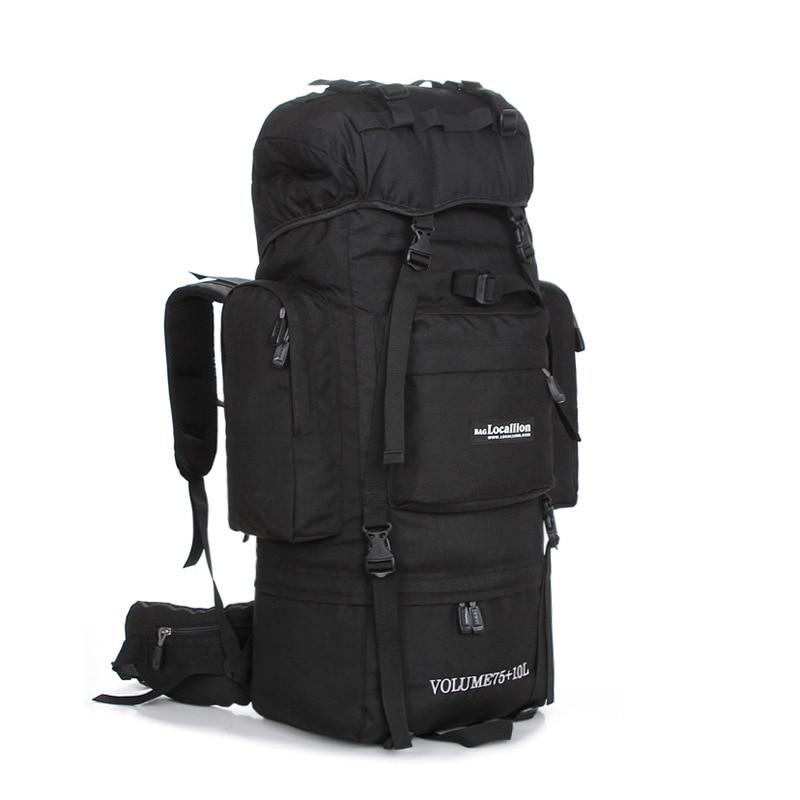 Large Capacity Outdoor Bag Mountaineering Backpack Travel Camping Hiking Climbing Sport Rucksacks Riding Foot Luggage Bag