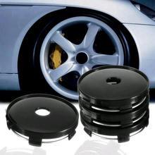 4 шт., универсальные автомобильные колесные диски, колпачки для центра ступицы, декоративная крышка для ступицы, ABS 60 мм* 56,5 мм