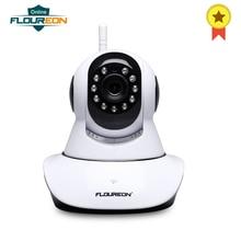 Floureon 720 P Wi Fi 1,0 мегапиксельный беспроводной видеонаблюдения IP камера ЕС камеры скрытого Авто ИК управление 3,6 мм CMOS сенсор