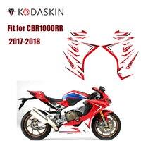 KODASKIN Motorcycle 2D Fairing Emblem Sticker Body sticker Decal for HONDA CBR1000RR 2017 2018