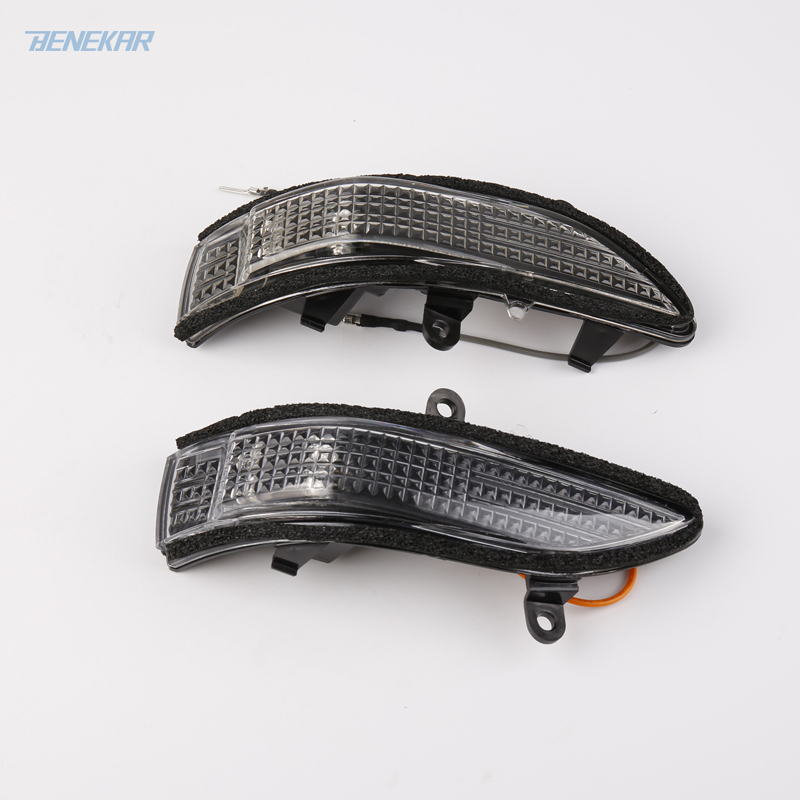 Benekar A Pair Side Mirror Turn Signal Light Lamp with Plug Harness for Subaru Forester Outback