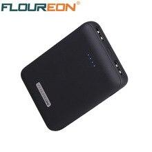Floureon 10000 mAh Мощность bank Dual USB Портативный внешний Батарея Зарядное устройство 5 V 2A мобильного телефона Батарея Зарядное устройство для iPhone X samsung