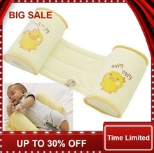 Fashion Comfortable Cotton Anti Roll Pillow Lovely Baby Toddler Safe Cartoon Sleep Head Positioner Anti-rollover 1 Piece