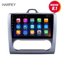 Harfey 9 HD Touchscrren Android 8,1 для 2004 2011 Ford Focus Exi на радио с gps навигацией wifi Bluetooth мультимедийный плеер