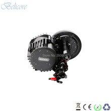 Bafang BBS02B 48 В 750 Вт bafang середине drive комплекты для мотора BB 100 мм BB 120 мм BB 68 мм с цветным дисплеем ЖК-дисплей