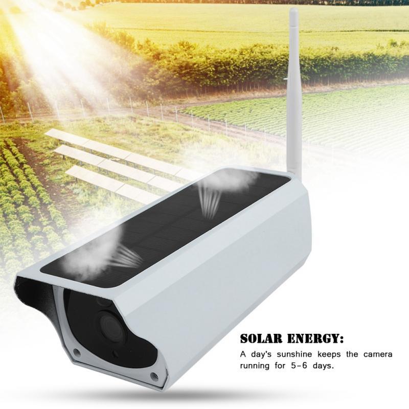 200W 1080P HD Wifi Outdoor Solar Security IP Camera Wireless Surveillance Night Vision Camera waterproof home security solar powered surveillance 1080p wifi camera wireless hd camera