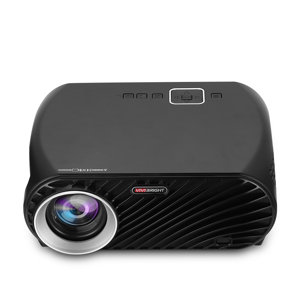 New VIVIBRIGHT GP100 Projector Full HD 3200 Lumen 1080P WiFi LED LCD Home Theater Cinema Video Projector Built-in speaker aun new hd projector support wifi bluetooth built in android os 4 2 system 3d projector for home cinema led projector v5g5