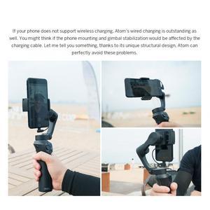 Image 5 - Novo snoppa atom 3 axls dobrável pocket sized handheld cardan estabilizador dobrável para iphone para gopro com carregamento