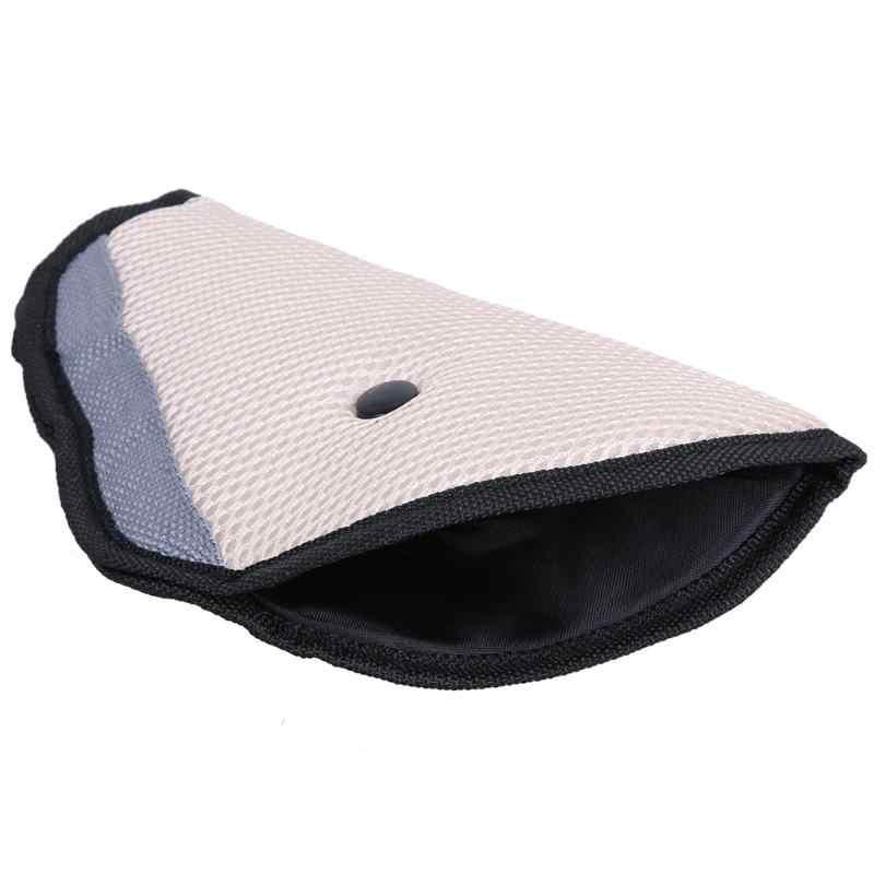 1pc auto segurança alça de ombro arnês capa criança pescoço proteger positioner triângulo bebê criança ajuste cinto de segurança do carro dispositivo ajustador