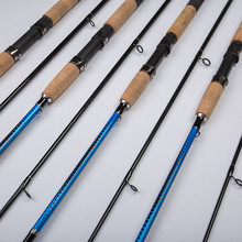 2019 New M Power 1.8M 2.1m Carbon Fiber Spinning Lure Fishing Rod Portable Spinnng Rods Leurre Spinning Fishing