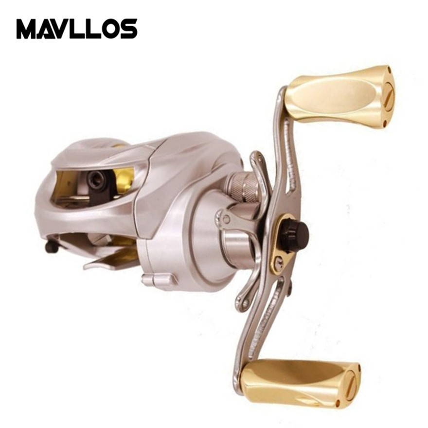 Mavllos Centrifugal Brake Saltwater Fishing Casting Reel 14BB Ratio 6.3:1 Drag Force 5.5kg Saltwater Baitcasting Reel поводковый материал trabucco t force ultra strong saltwater
