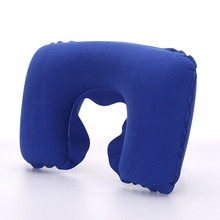 U-Shaped Inflatable Neck Pillow for Travelling Sleep