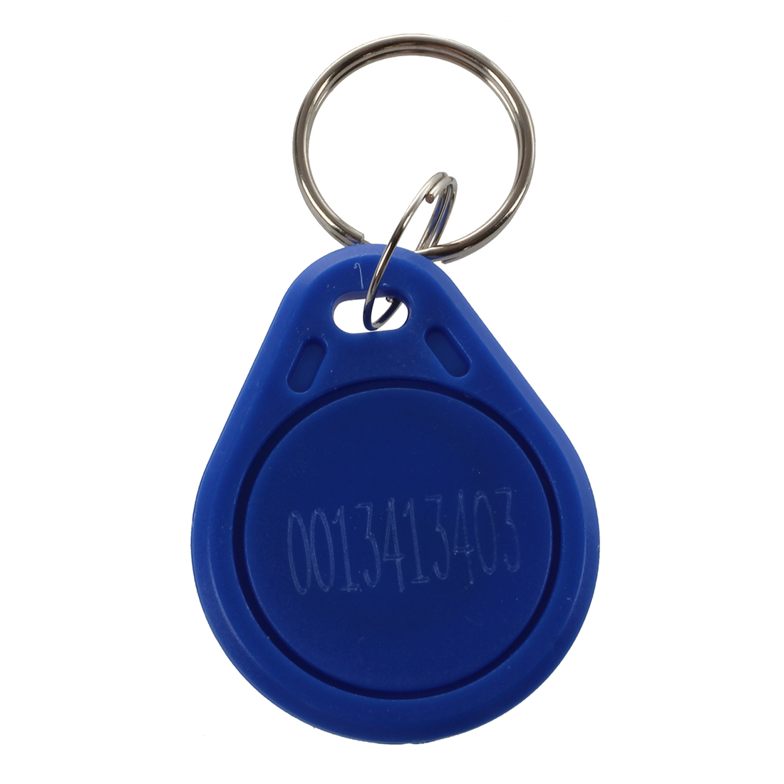 5 Pieces Blue EM4100 125KHz Input Access Control RFID ID Card Label Key Holder