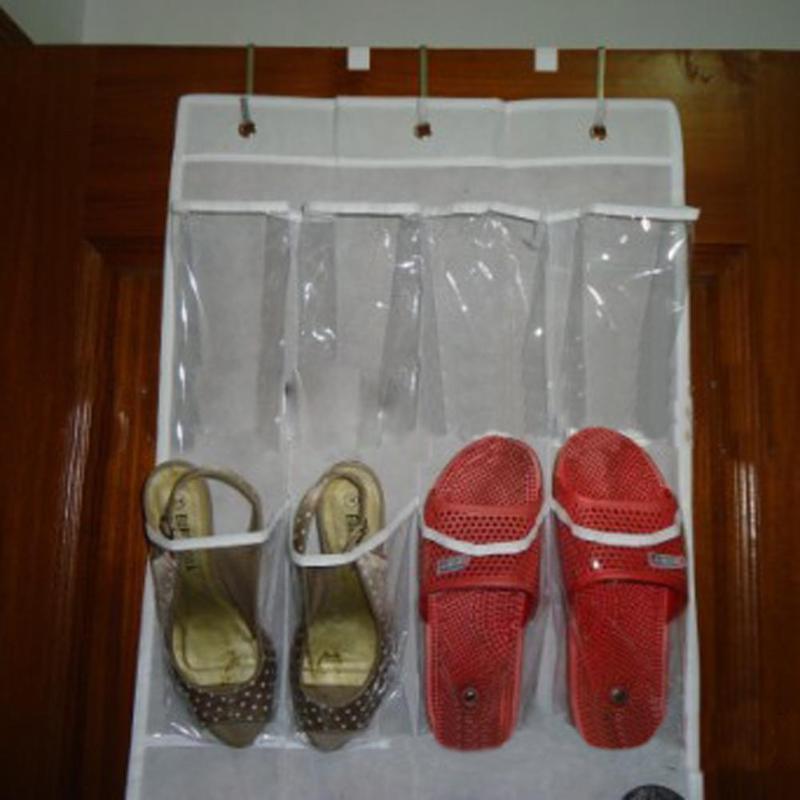 24 Pocket Door Hanging Holder Shoe Organiser Storage Rack Wall Bag Room