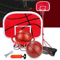 Adjustable Basketball Stand Child Outdoor Household Motion Basketball Stand Not Deformed Durable Detachable Ball Stand