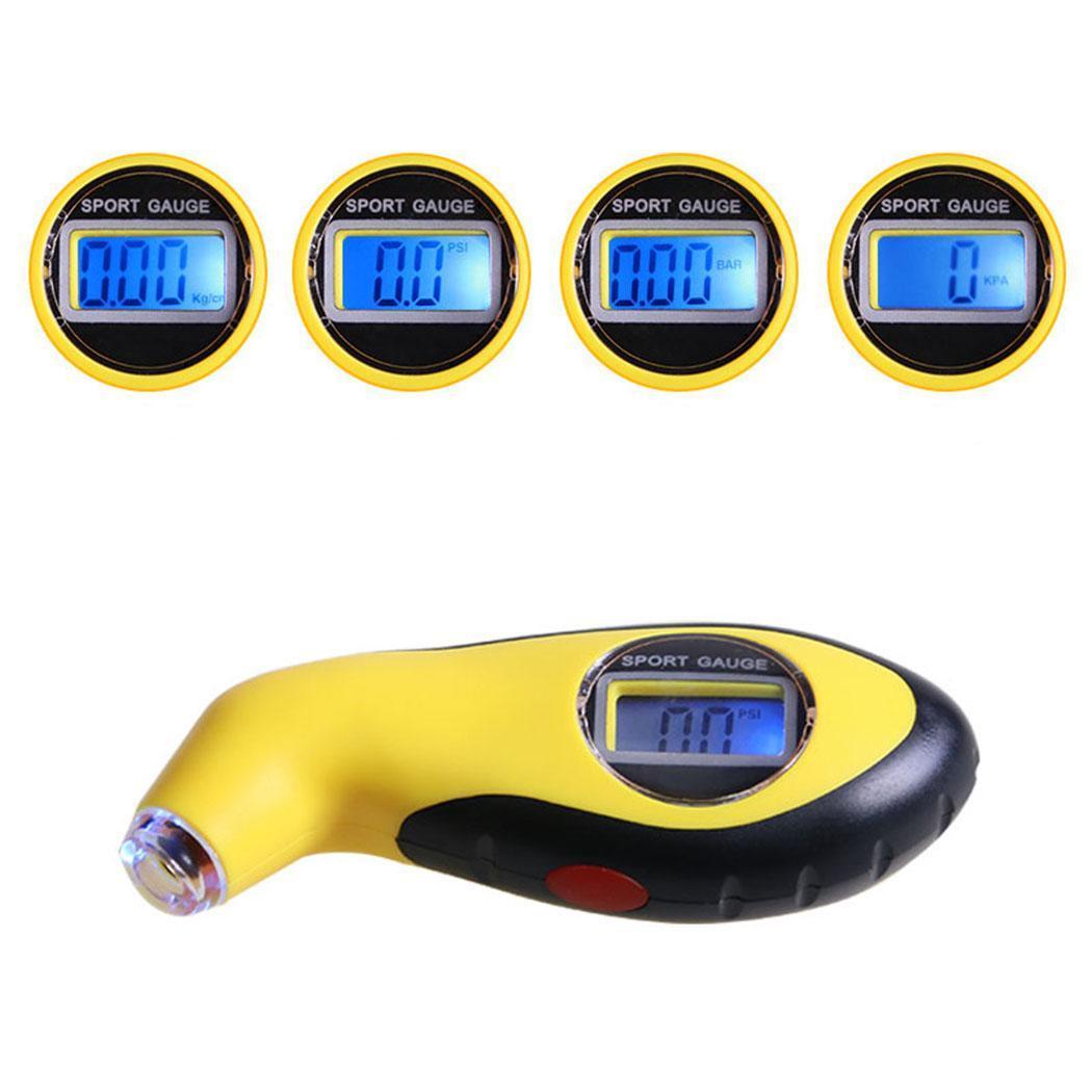 LCD Digital Tire Pressure Gauge Meter Auto Car Air Pressure Tire Blue PSI, KPA, BAR,KG/CM Tire Pressure ManometerLCD Digital Tire Pressure Gauge Meter Auto Car Air Pressure Tire Blue PSI, KPA, BAR,KG/CM Tire Pressure Manometer