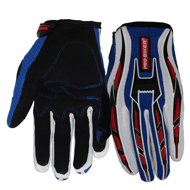 LumiParty Motorrad Handschuhe Volle Finger Motocross Dirt Racing Offroad ATV Reiten Roller Guantes Motocicleta Gears Handschuhe