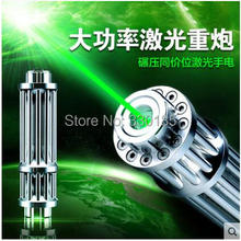 AAA Most Powerful Military 532nm 100000m 100Watt SOS Flashlight Focus Green Laser Pointer Light Burning Burn Cigarettes Hunting