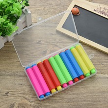 Clip Chalk-Holder Home-Supplies Colored School Children For Teachers with Hard-Storage-Case